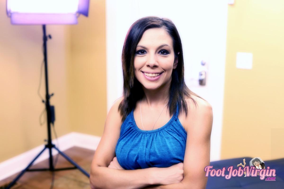 FootJobVirgin presents Dakota Charms Video Stills