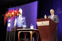 at_podium