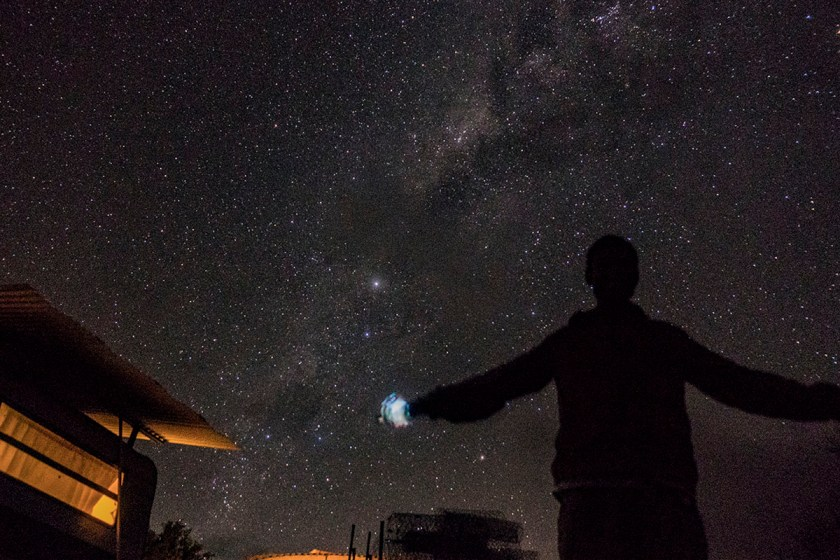 night sky australia