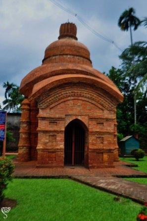 Temple in Mahadeb bari