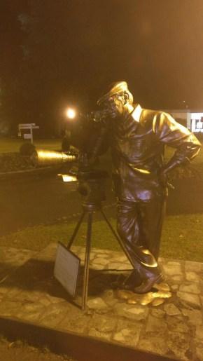 Statue of Yash Chopra, PC: N Mehta