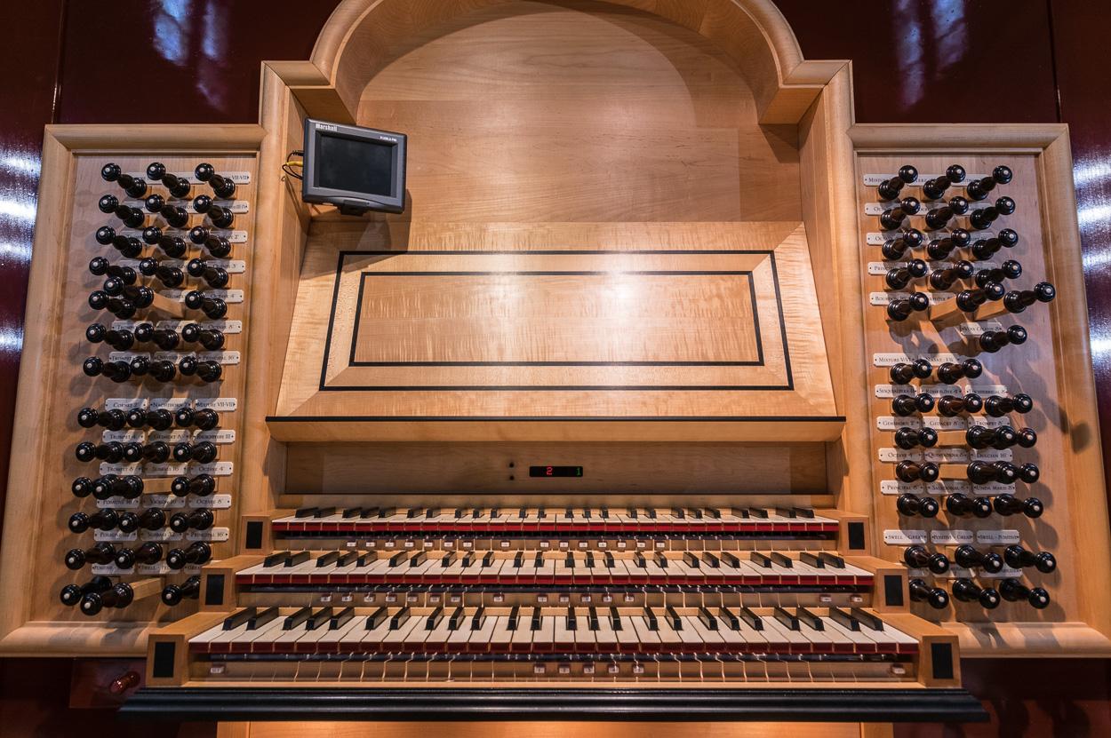 Fritts Organ at Saint Joseph Cathedral