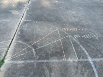 Second triangle and demonstration of identity