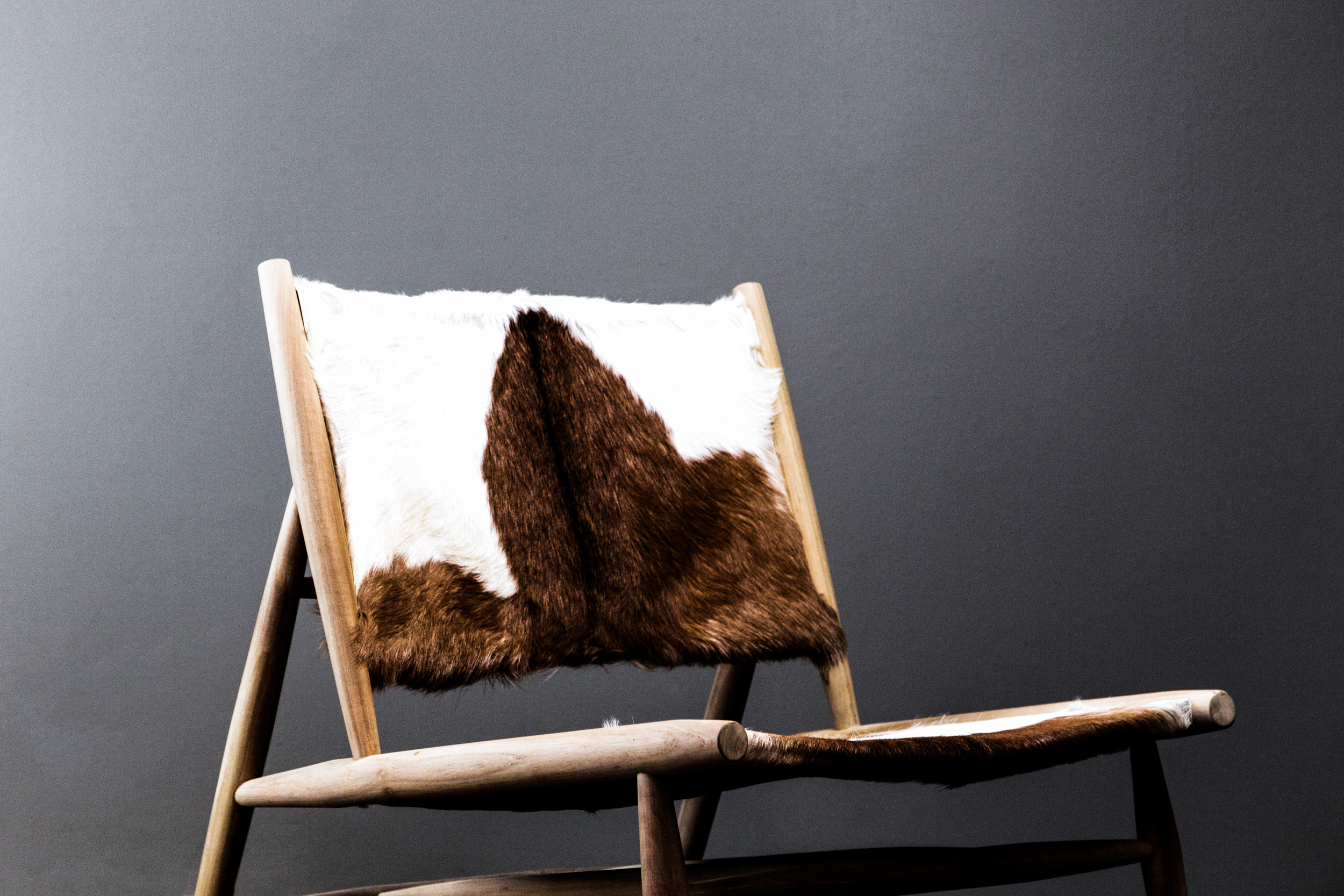 Cow Hide Chair Cow Hide Occasional Chair