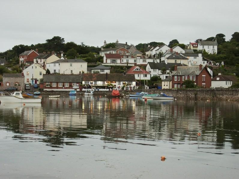 Cockwood harbor at high tide