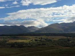 Grampian mountains