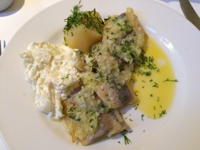 Marinated herring (appetizer)