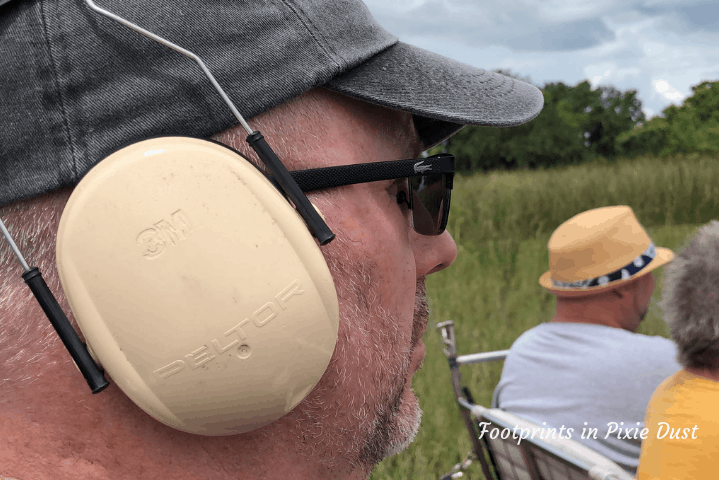 Wild Florida - airboat ear protection