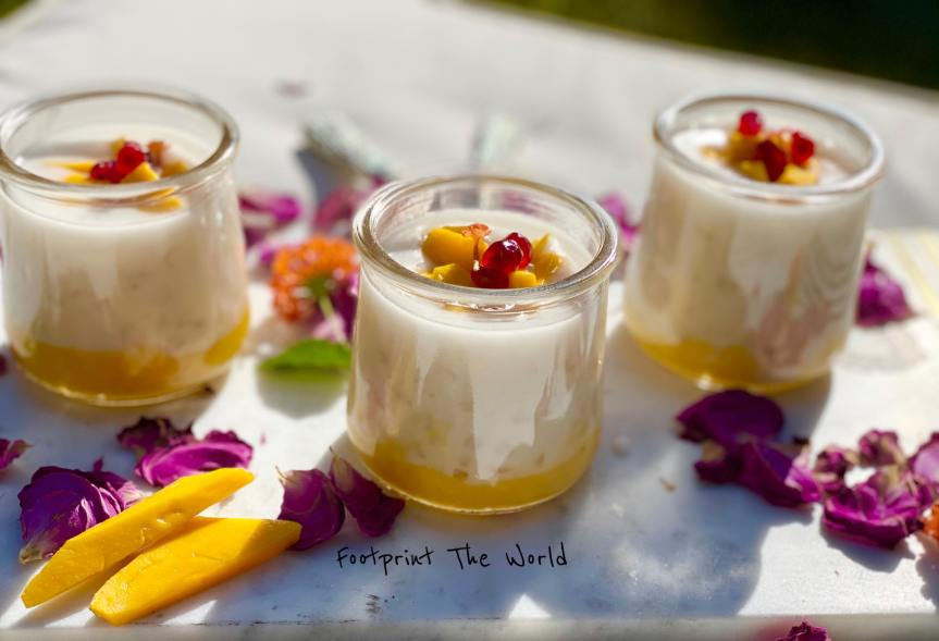 Mango Coconut Tapioca Pudding – Thai