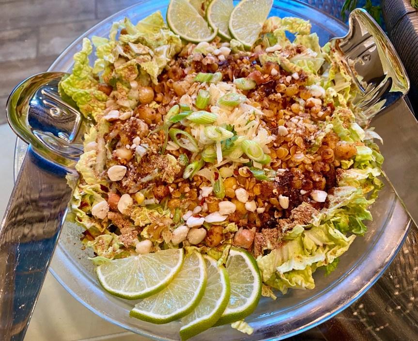 Burmese Ginger Crunchy Salad
