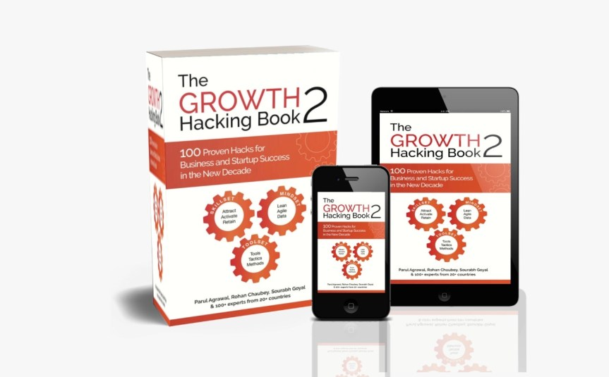 Growth Hacking Book 2  Is Here – Discover Tried And Tested Growth Hacks By 100+ Experts From 20 Countries