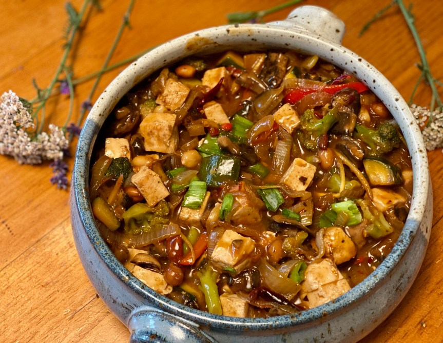 Spice Me Up – Szechuan Tofu