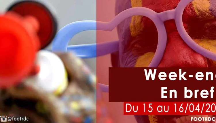 Week-end en bref : du 15 au 16 avril 2017