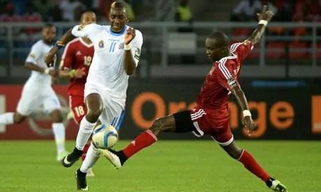 Congo-Brazzaville vs RDC : Réaction contrastive de Yannick Bolasie après le nul (1-1).