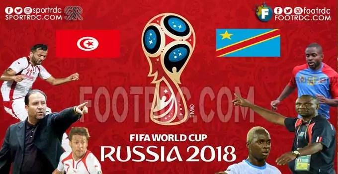 Eliminatoires CDM RUSSIE 2018 : TUNISIE vs RDC-Les compos probables.