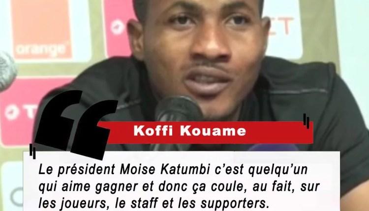 CAF LDC : KOUAME «Moïse Katumbi, l'ADN du succès chez Mazembe» !