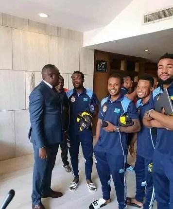 Congo-Brazzaville vs RDC : 23 Léopards sont à Kinshasa, Fabrice N'sankala absent.