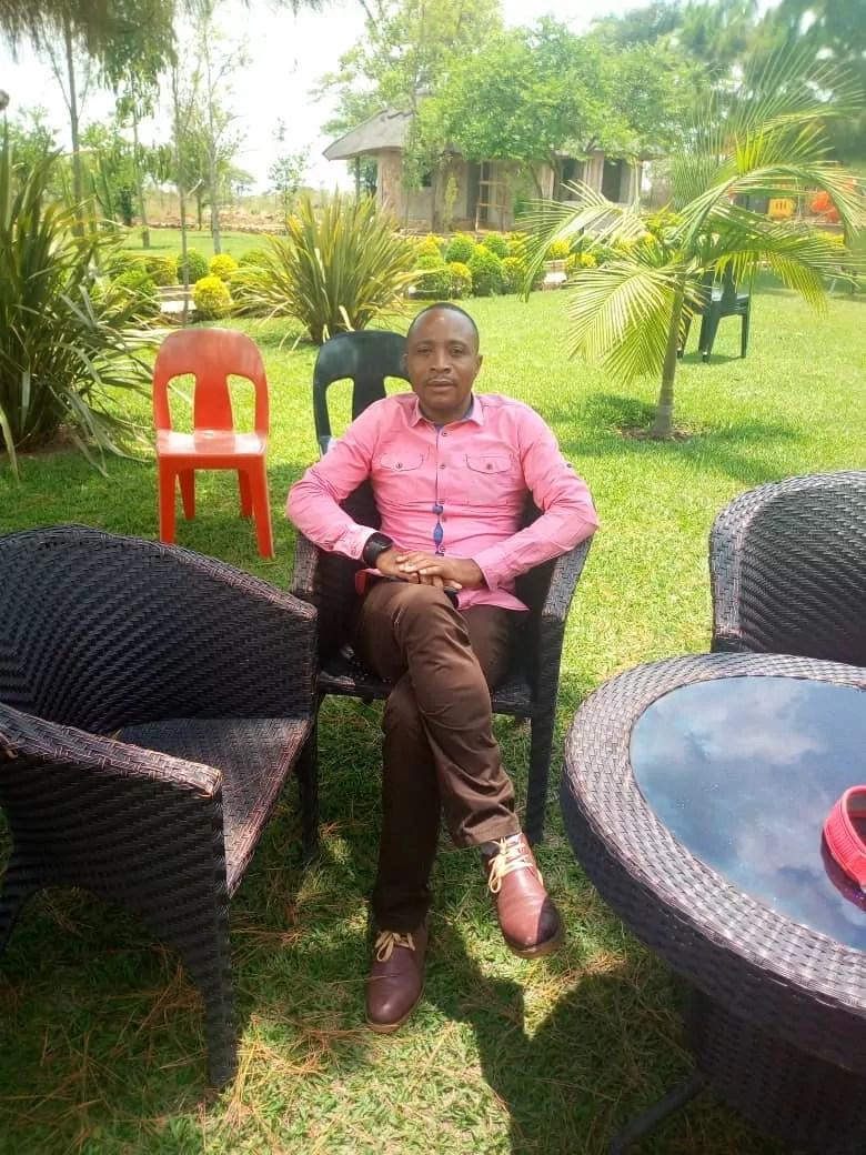 Patrick Kasonde (Président AJSC Katanga /Journaliste Mwangaza Tv - Lubumbashi)