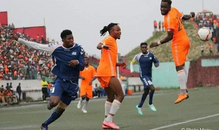 COUPE DU CONGO: FC RENAISSANCE CALÉ PAR  JSK.