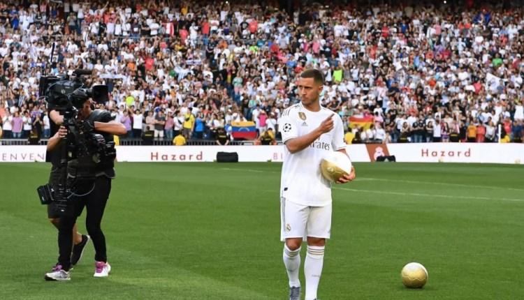 A l'étranger : Les supporters du Real réclament «Mbappe» à la présentation d'Eden Hazard..