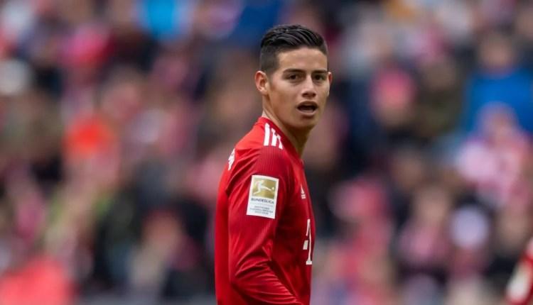 Europe : James Rodriguez va quitter le Real pas Madrid.