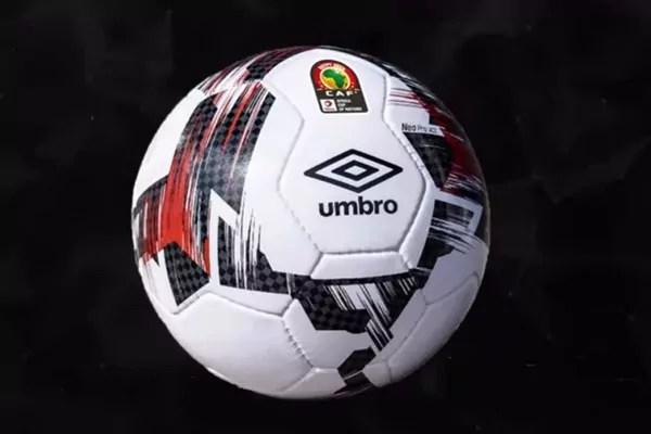 CAN 2019: Voici Le ballon officiel dévoilé par CAF