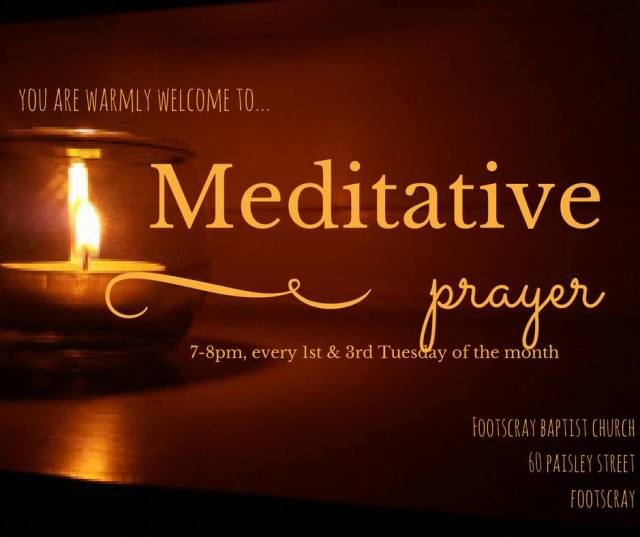 FBC-Meditative Prayer