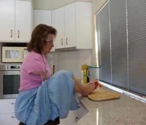 Preparing dinner..