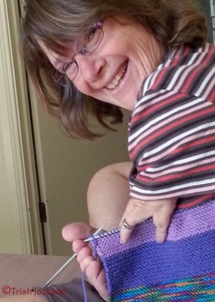 Knitting is fun