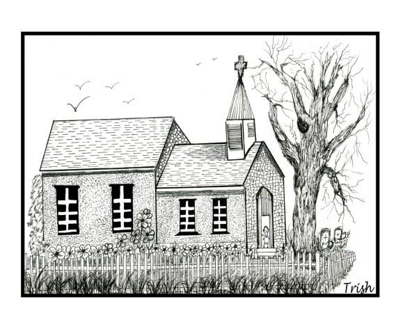 Church Drawing.