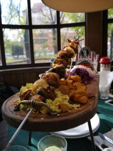 The amazing food at Pod W
