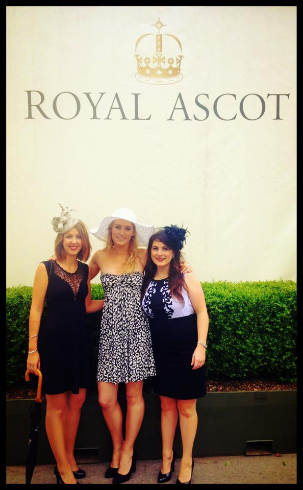 Last day in London, Ladies Day at the Ascot Races..
