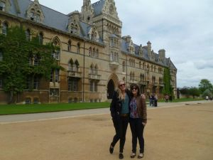 Amanda and I in Oxford.!
