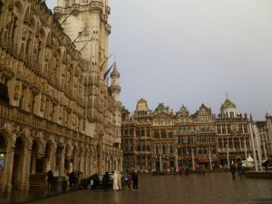 Only a small part of the impressive Grand Place/Grote Markt..