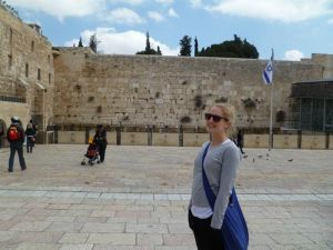 The Wailing Wall..