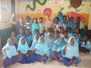 My senior students at Kikadini Nursery School..
