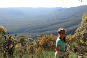 The amazing view from Mt Remarkable in the Flinders Ranges..