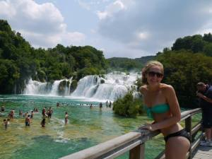 Krka Waterfalls in Croatia.!