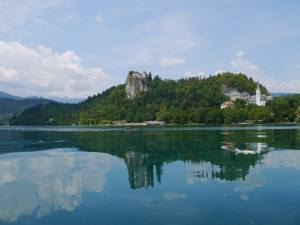 Lake Bled in Slovenia..