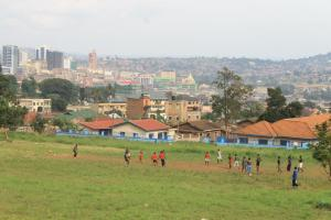 The city of Kampala..
