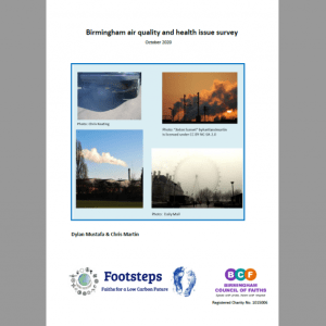 Air quality and health report cover