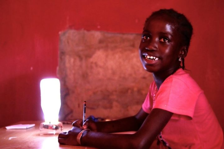 Footsteps eco-lodge Gambia | Sunny Night Light at AFNOW by Footsteps & Jiki Foundation