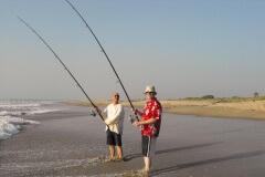Beach Fishing in The Gambia