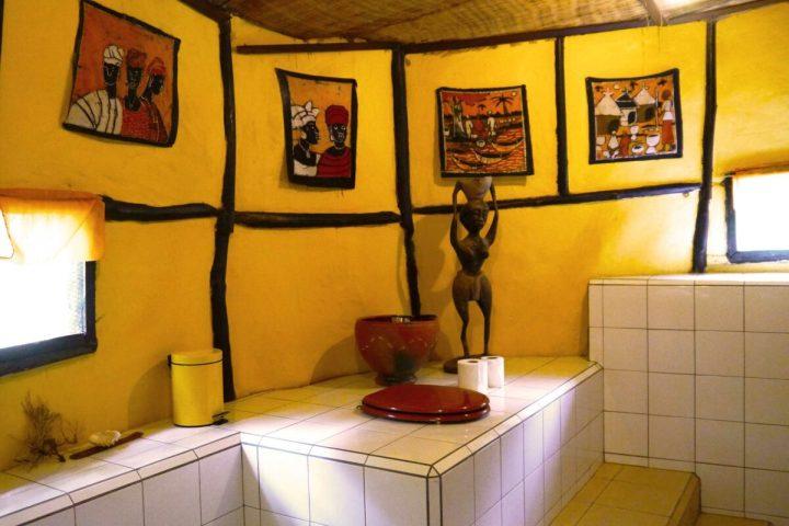 Kaira Cabins accommodation | interior | bathroom