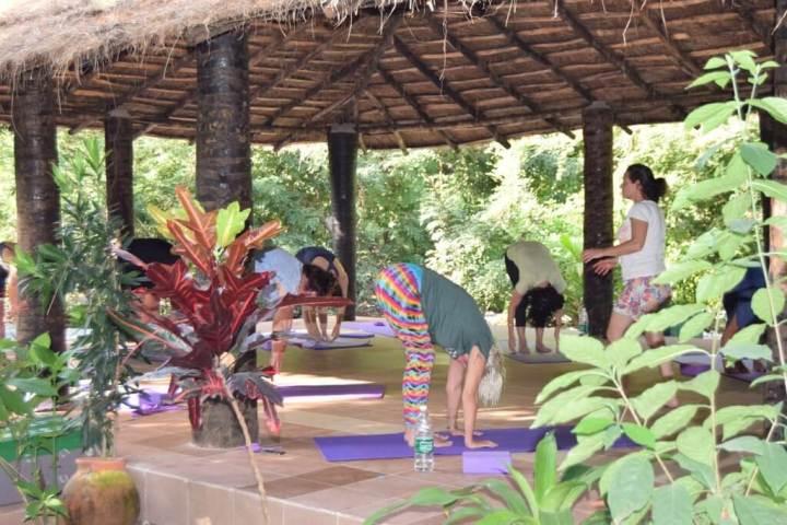 yoga holiday gambia