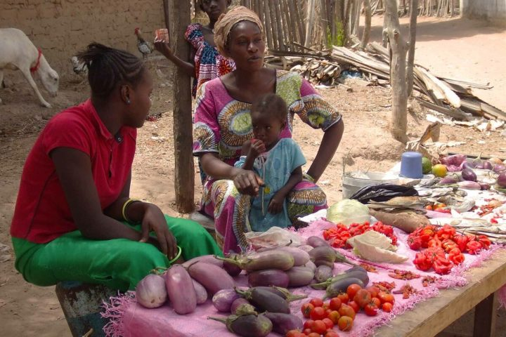 Gambia food | Local produce stall