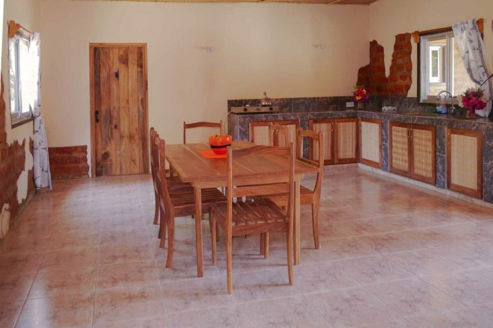 Sunbird House accommodation   interior   kitchen