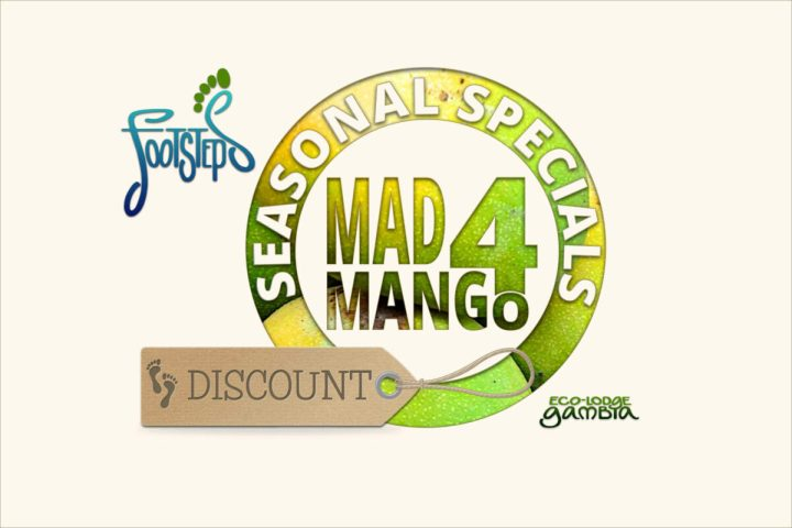 Footsteps eco-lodge Gambia | Special Offers | Seasonal Specials | Mad 4 Mango Discount