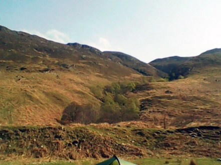 Camping by Loch Maree
