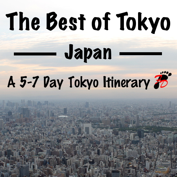 The Best of Tokyo: A 5 - 7 Day Tokyo Itinerary + Day Trips